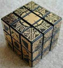 <b>Hellraiser puzzlebox</b> patterned rubix cube | Кубик рубика ...