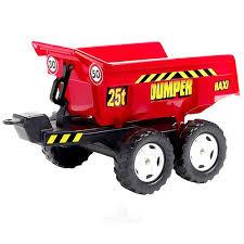 <b>Трактор</b>-<b>экскаватор педальный</b> с прицепом и ковшом, 225 см ...