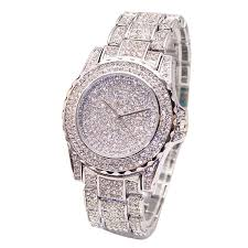 Golden <b>New Clock</b> gold Fashion Men <b>watch</b> Diamonds Stainless ...