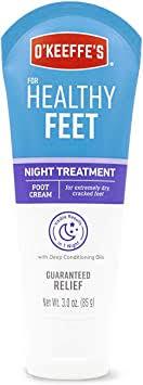 O'Keeffe's Healthy Feet Night Treatment: Home ... - Amazon.com