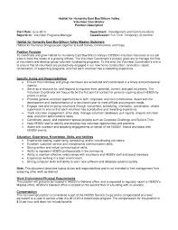 habitat for humanity volunteer coordinator habitat east bay silicon valley job description