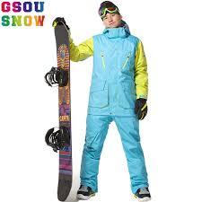 Gsou <b>Snow Professional Ski</b> Suits Men <b>Snowboard Jackets Winter</b> ...