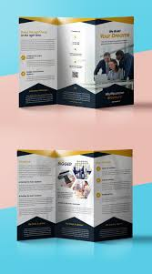 professional corporate tri fold brochure psd template professional corporate tri fold brochure psd template