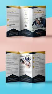 professional corporate tri fold brochure psd template professional corporate tri fold brochure psd template