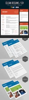 26 creative cv resume templates cover letter portfolio simple cv resume cover letter design