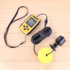 200KHz Wireless Sounder <b>Sonar Fishing Finder Detector</b> Outdoor ...