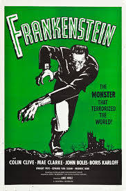 frankenstein vintage horror movie poster  by 1960 universal re acquired the rights to distribute their greatest horror films from