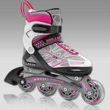 Детские раздвижные роликовые коньки Roller Derby TEGRA ...