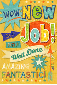 new job well done greeting card cards love kates new job well done greeting card