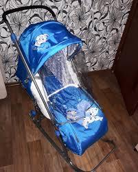 Обзор от покупателя на <b>Санки</b>-<b>коляска Ника Disney</b> Baby 1 ...