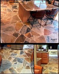 kitchens stone floors flagstone floor