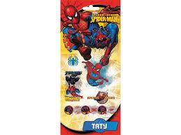 <b>Наклейки Action</b>! <b>объемные</b>, <b>Spiderman</b>, 17,5*9 см купить в ...