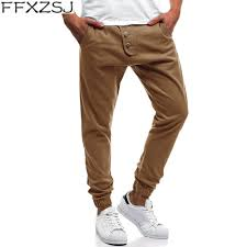 <b>FFXZSJ brand 2019</b> hot fashion mannen Skinny Fit straight leg ...