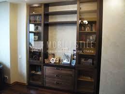 <b>Книжный шкаф</b> из <b>шпона</b>