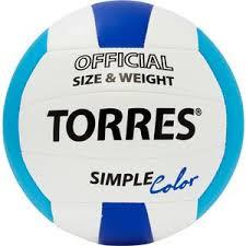"""<b>Мяч волейбольный Torres любительский</b> Simple Color"""" арт ..."""