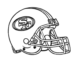 Small Picture Football Helmet Coloring Pages For Free Nfl Football Helmet