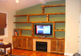 furniture living room wall: reclaimed wood wall unit  reclaimed wood wall unit
