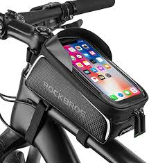 Bike Phone Front Frame Bag Bicycle Bag Waterproof ... - Amazon.com