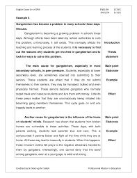 examples of essays  how to write essay example  gothic short story   Essay