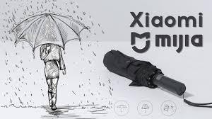 Зонт <b>Xiaomi Mijia Automatic</b> Umbrella - подробный обзор ...