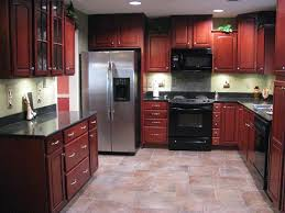 Small Picture Paint Colors For Kitchens With Dark Cherry Cabinets Painting Best