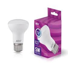 <b>Лампа LED REV</b> Е27 5Вт рефлектор холодный свет купить по ...