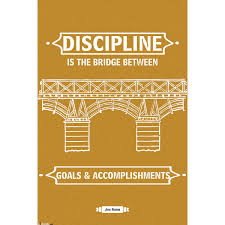 motivational merchandise at best quality and good price discipline poster