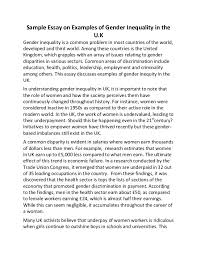 best essay uk essay uk sample essay on examples of gender inequality in the uk sample essay on examples