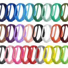 Silicone Bracelet Sport Strap For Xiaomi Mi Band 5 ... - Vova