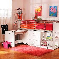 awesome loft bunk bed white modern style desks for kids amazing loft bed desk