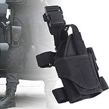 Yunwal <b>Tornado</b> Tactical Drop <b>Leg Holster</b> Thigh Ajustable for <b>Hunting</b>