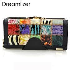 <b>Dreamlizer</b> 3 Fold Moda <b>Genuine Leather</b> Women Portfele ...