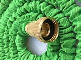Greenbest Expandable <b>Garden</b> Hose, Aviation <b>Aluminum Alloy</b> Nozzle