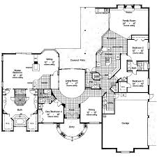 Spanish House Plans   Smalltowndjs comHigh Quality Spanish House Plans   Luxury House Plan First Floor d House Plans