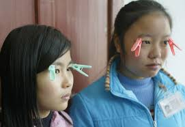 chinese sweatshop workers wearing clothespins to stay awake during chinese sweatshop workers wearing clothespins to stay awake during 18 hour work days