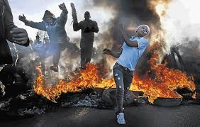 Image result for pictures of xenophobic attacks in south africa