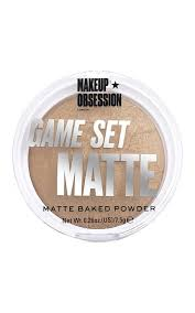 Пудрая для лица <b>MAKEUP OBSESSION</b> Kalahari <b>компактная</b> ...