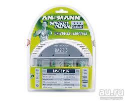 <b>Зарядное устройство</b> универсальное <b>Ansmann Basic</b> 5 plus ...