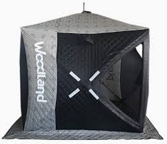 <b>Зимняя палатка</b> куб <b>WOODLAND</b> Ultra, трехслойная ...