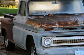 Image result for rusty pickup truck