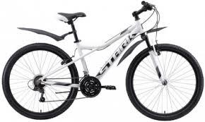 """Горный велосипед Stark Slash 26.2 V 16""""/2020, белый/черный ..."""