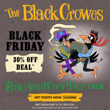 """TheBlackCrowes on Twitter: """"<b>The Black Crowes Black</b> Friday ..."""