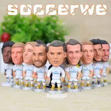 Real Madrid [<b>14PCS</b> + Display Box] Soccer Player Figurine 2.5 ...