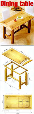 dining table woodworkers: dining room table plans furniture plans and projects woodarchivistcom