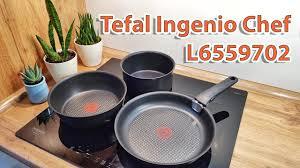 <b>Набор посуды Tefal Ingenio</b> Chef L6559702 - YouTube