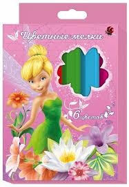 <b>Набор цветных</b> мелков Disney Феи <b>6</b> цв - купить в Москве: цены в ...