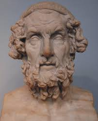 Image of a bust of Homer