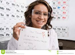student is happy about good grade stock photo image 40225794 science student showing off good grade royalty stock images