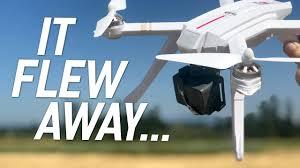 <b>MJX Bugs 3</b> PRO GPS 1080 - FLY AWAY DRONE! - Review ...