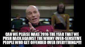 Meme Maker - Can we PLEASE make 2016 the year that we push back ... via Relatably.com